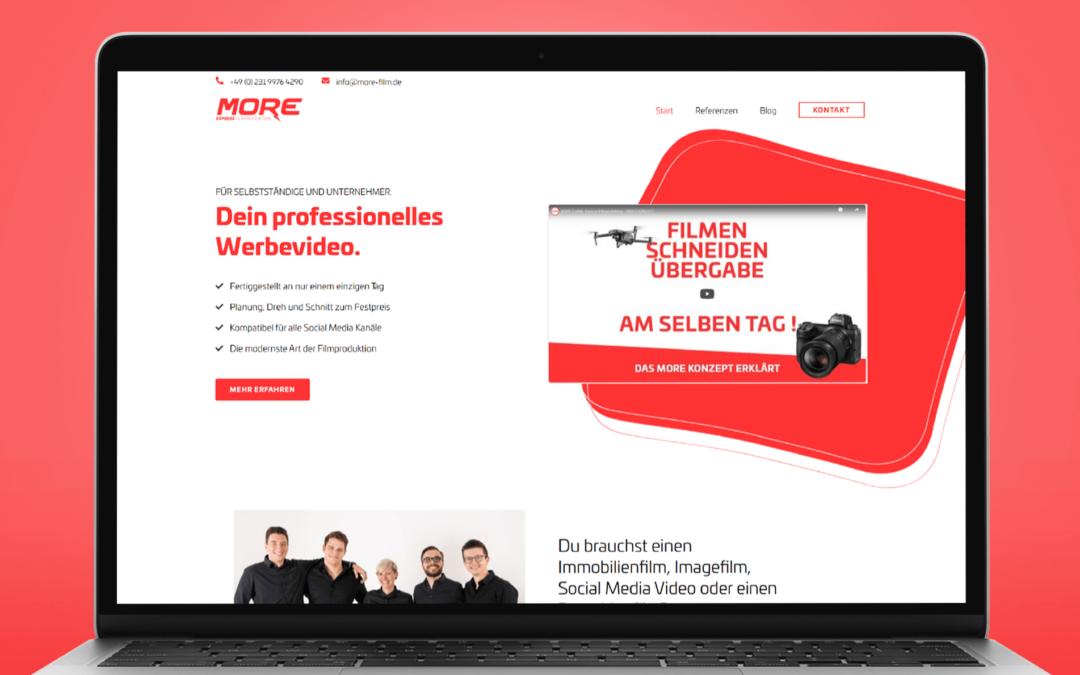 MORE – Website